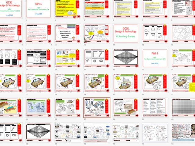 Ultimate Guide to OCR DT GCSE NEA Generating Design Ideas ONLY Strand 2/3 Teacher's guide + Videos