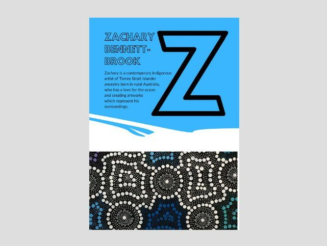 Artist A to Z | Z | Zachary Bennett-Brook | Indigenous Australian Art