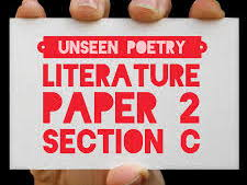 GCSE Unseen Poetry -Power Point containing 9 lessons with activities