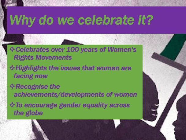 International Women's Day Assembly