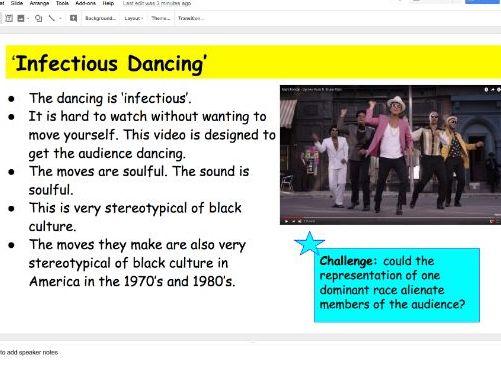 GCSE OCR Media Studies (9-1) Paper 2 Music Video