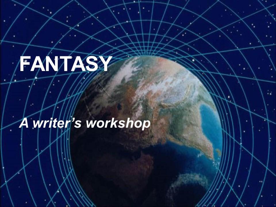Fantasy Writer's Workshop
