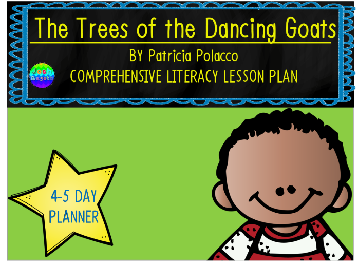 Trees of the Dancing Goats by Patricia Polacco 4-5 Day Lesson Plan