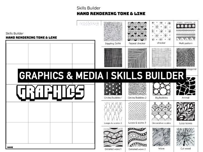 TONE & LINE | Hand Rendering Graphics