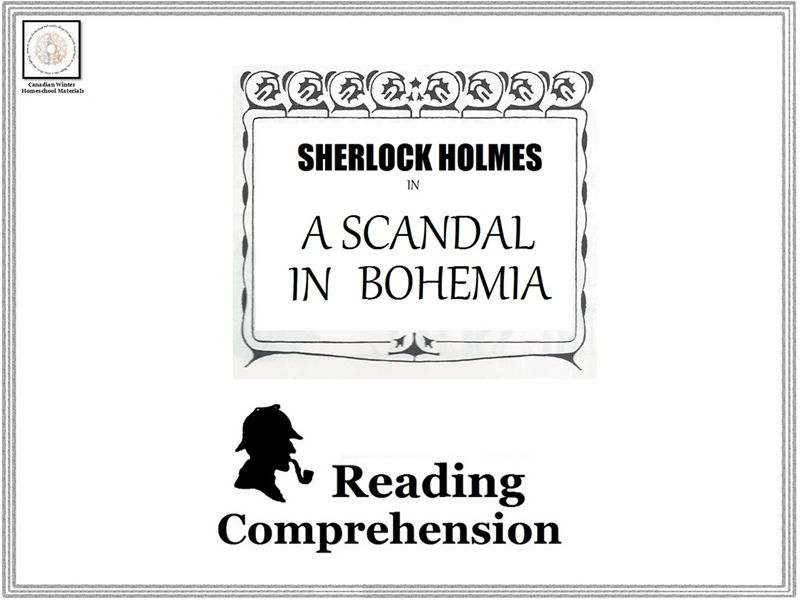 Reading Comprehension: Sherlock Holmes in A Scandal in Bohemia