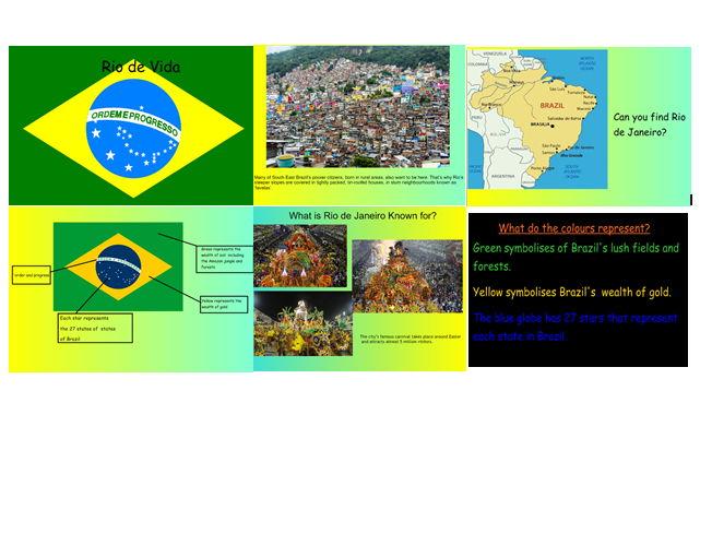 Cornerstones Rio de Vida - Planning for Rio de Janerio in Brazil for KS1 y1 y2