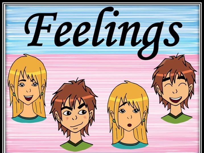 Feelings and emotions. Dominoes.