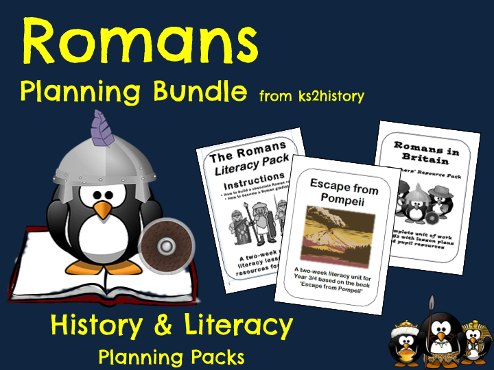 Romans Planning Bundle - Literacy & History