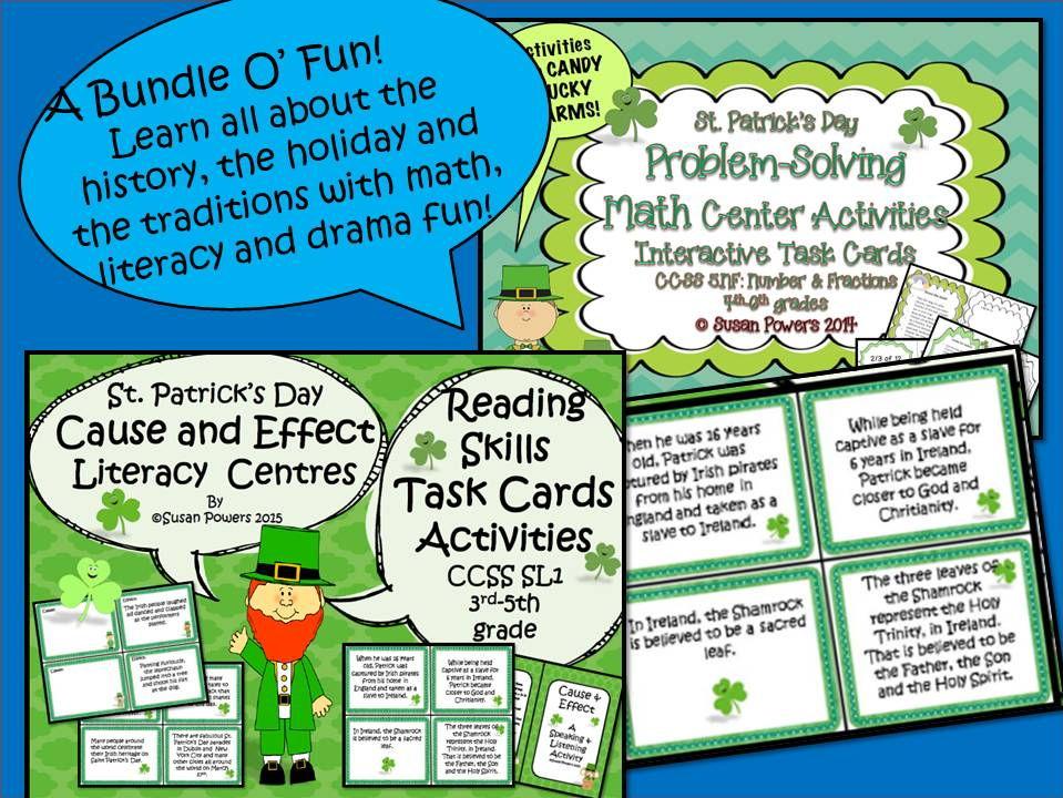 St. Patrick's Day Bundle O' Learning Fun