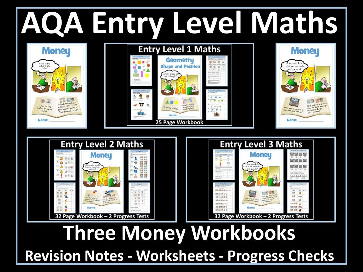 Money AQA Entry Level Maths