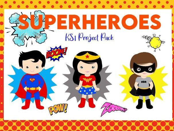 Superheroes KS1 Project Pack