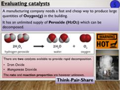 KS4 C8.5.2 Investigating Catalysts