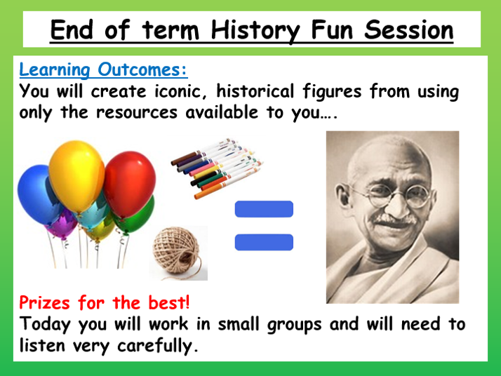 End of Term History Lesson