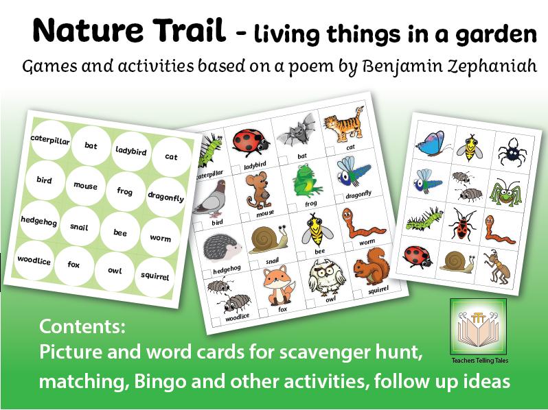 Nature Trail Garden Games