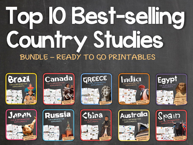 Country Studies Bundle (Top 10 Best-selling Units)