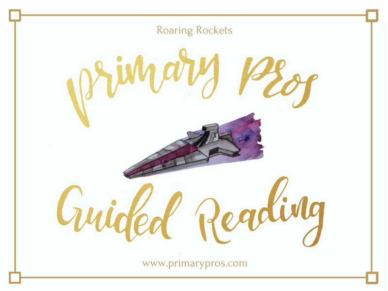 Year 3 & 4 Guided Reading Text - Roaring Rockets