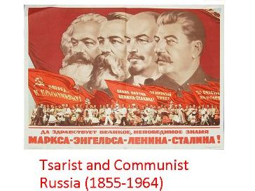 AQA A-level History 1H: Tsarist and Communist Russia Revision Notes