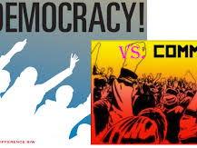 Communism, democracy and fascism
