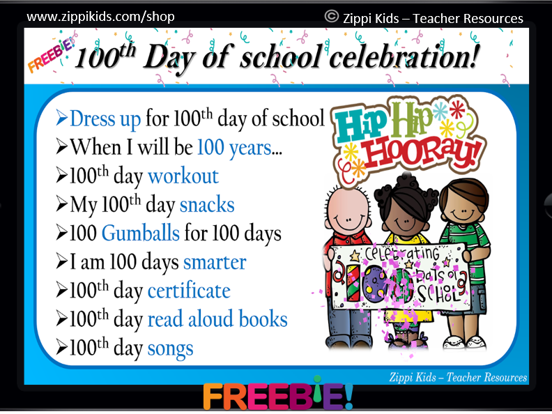 100th Day Of School   Activities   Virtual   In-person - 14 Google Slides
