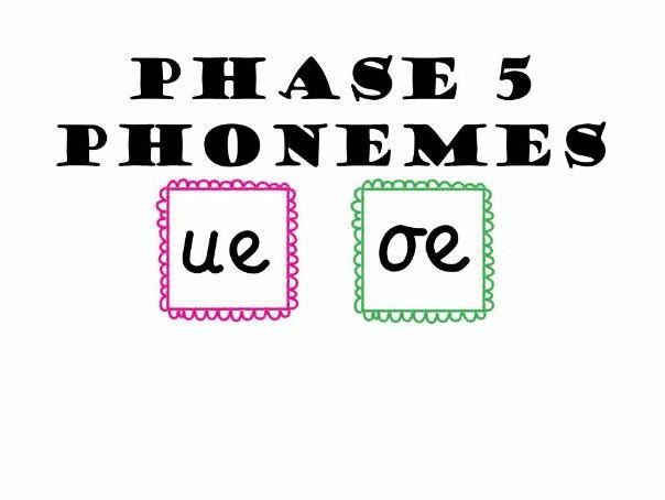 Phase 5 Phonemes