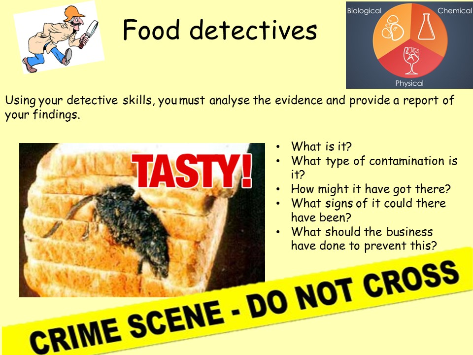 Food poisoning - An introduction to the types and causes. KS3 AND KS4