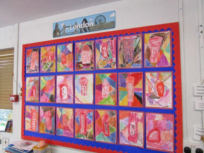 Red Phone Box Art EYFS / Reception