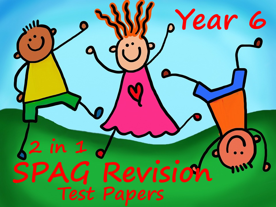 Year 6 SPAG 2016 sample papers - Questions and answers - all in single document!