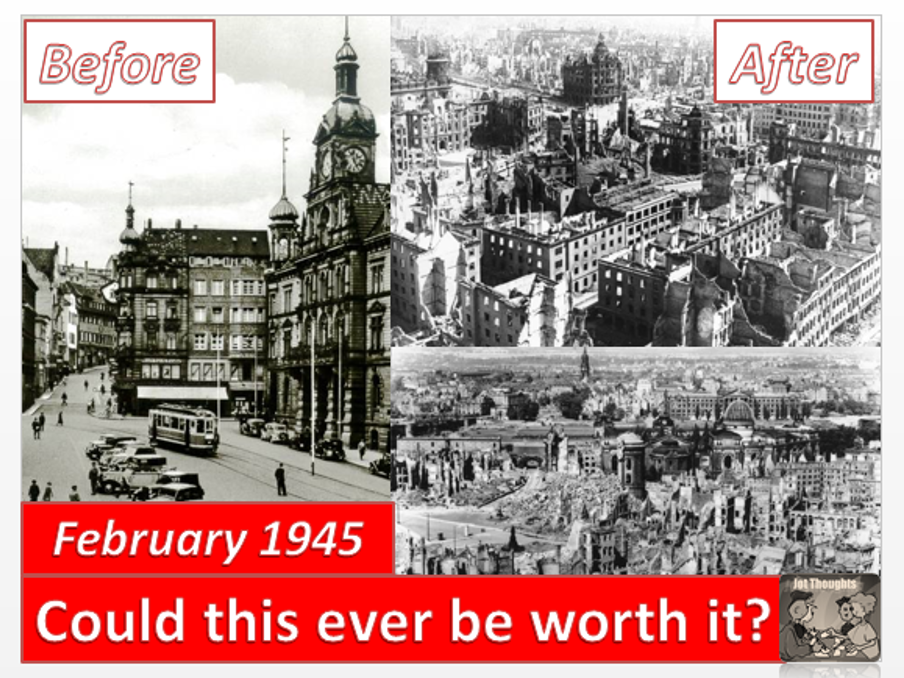 The bombing of Dresden - was it right?
