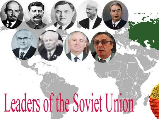 Soviet Leaders - From Lenin to Yeltsin 1917-1921