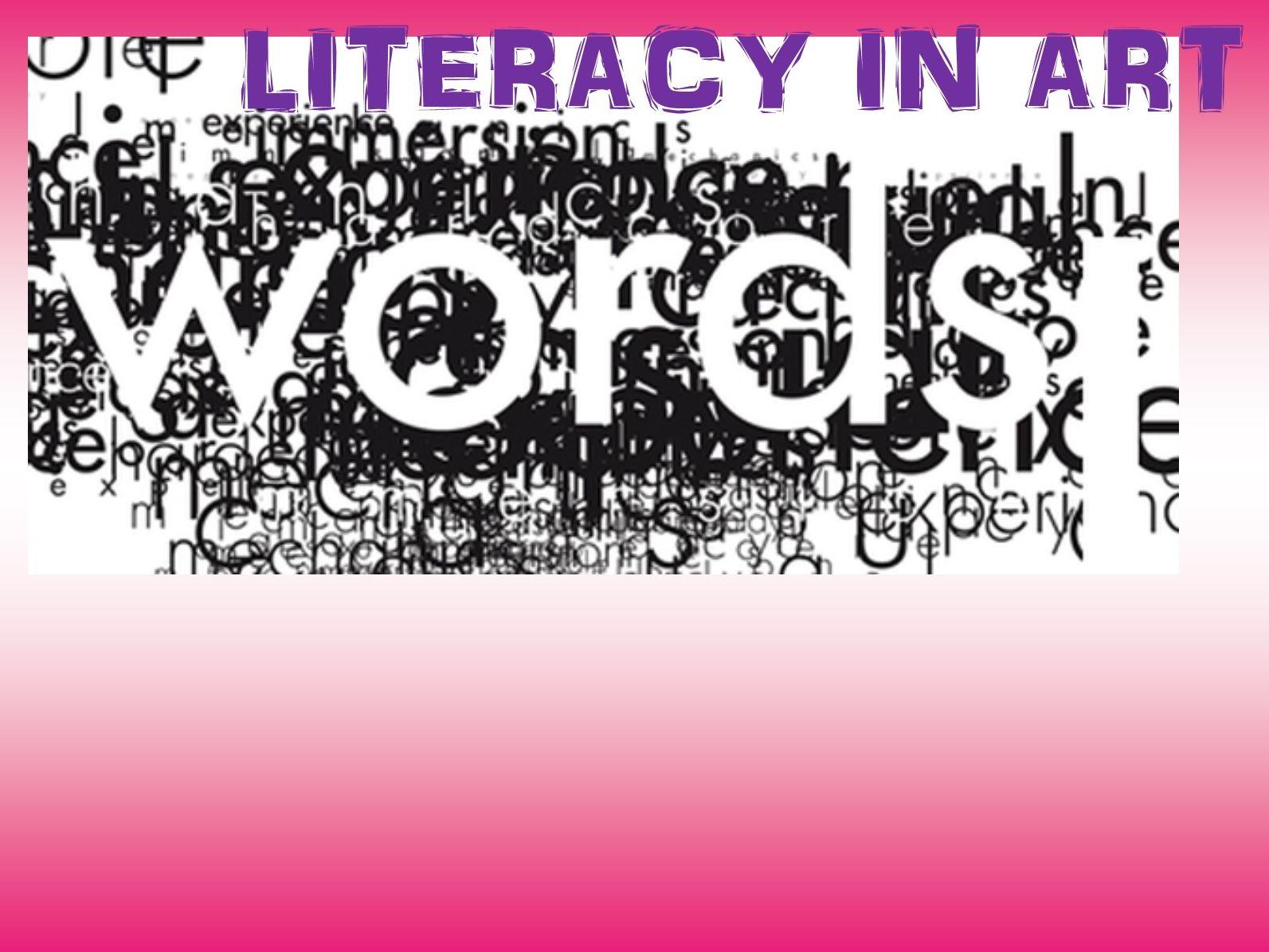 Art & Design Literacy Mats/Posters