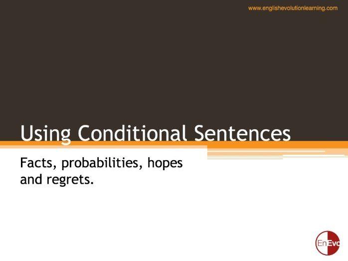 Using Conditional Sentences (B1 & B2)