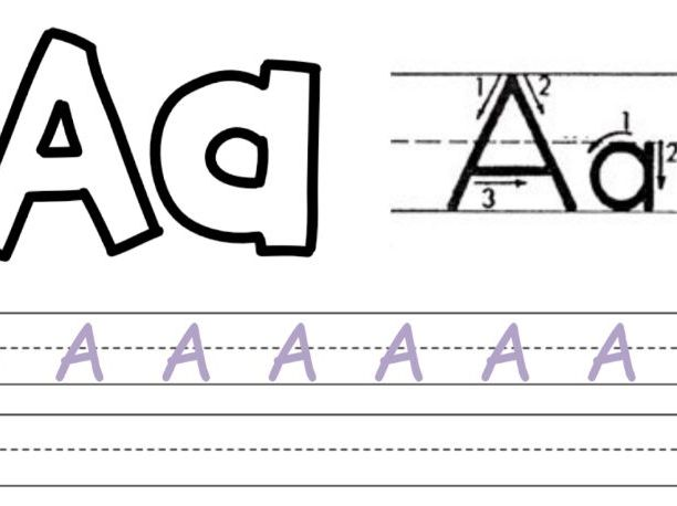 Alphabet Practice Booklet - ESL and Early Years