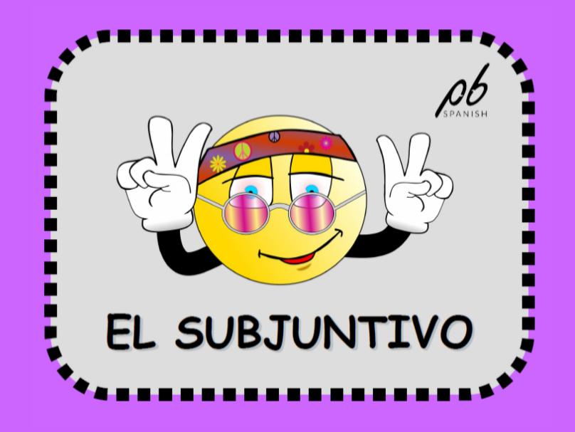 El subjuntivo - Infografía / The subjunctive - Infographic