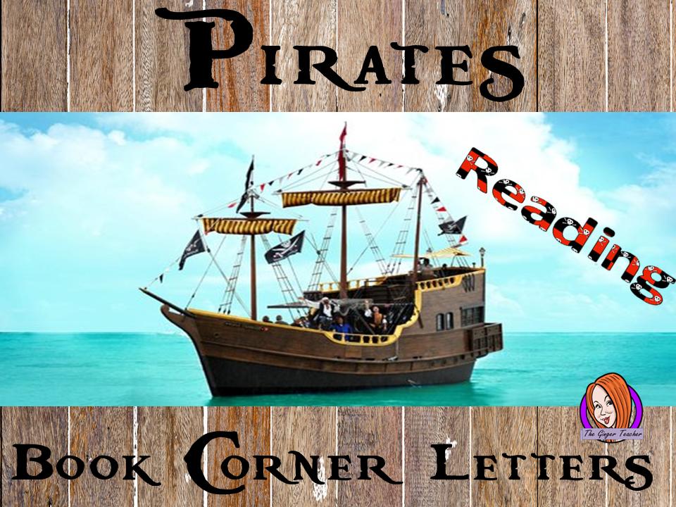 Pirate Class Book Corner Letters
