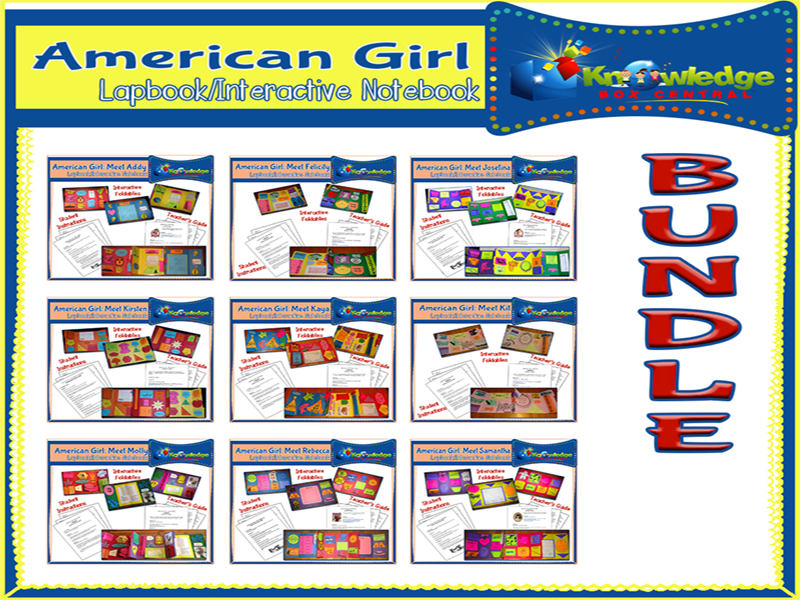 American Girl Lapbook BUNDLE