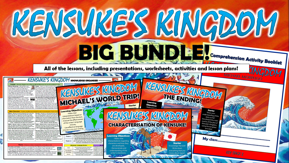 Kensuke's Kingdom Big Bundle!