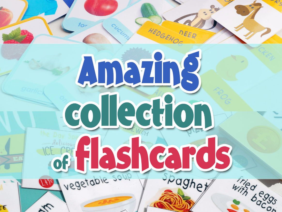 Amazing collection of flashcards