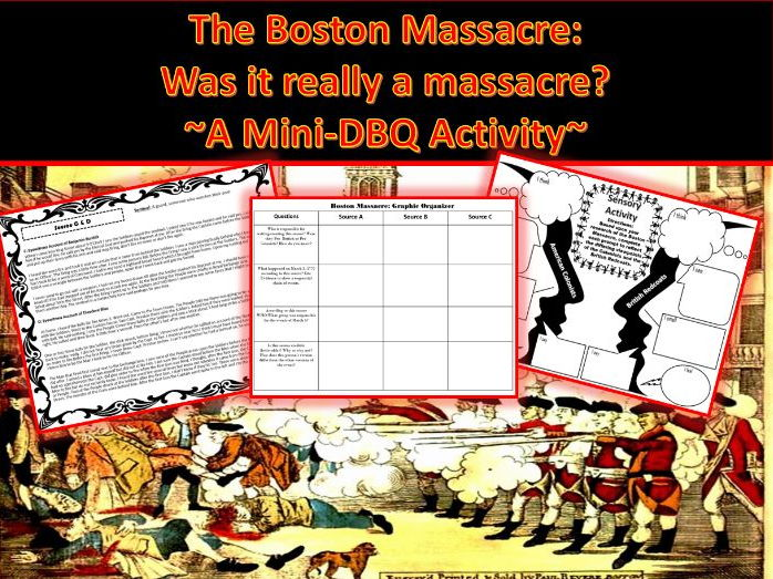 an examination of the two different accounts of the boston massacre