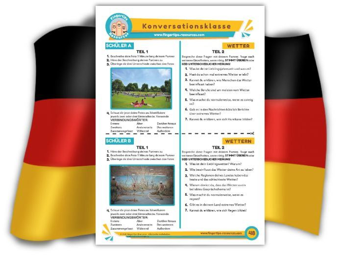 Wetter - German Speaking Activity