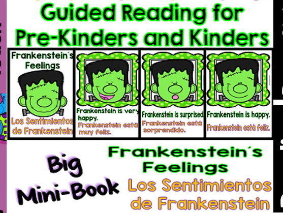 Guided Reading - Frankenstein´s Feelings/Los Sentimientos de Frankenstein-Dual
