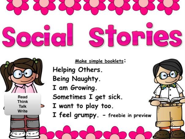 Social Stories: Read, Think, Talk & Write - Age 3-6 (Autism)