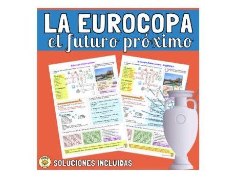 El futuro próximo La Eurocopa. Lugares en la ciudad. Spanish near future & town/ local area. Answers
