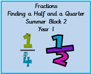 Fraction resources to support Summer block 2, Year 1