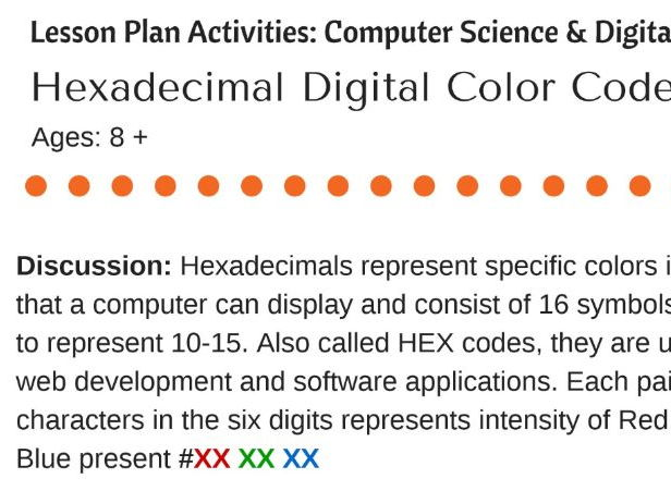 Why is hexadecimal used in computing