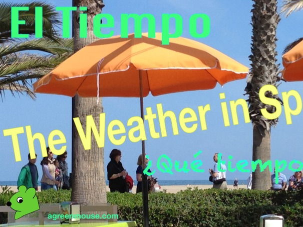 The Weather in Spanish Worksheet + Video Clip
