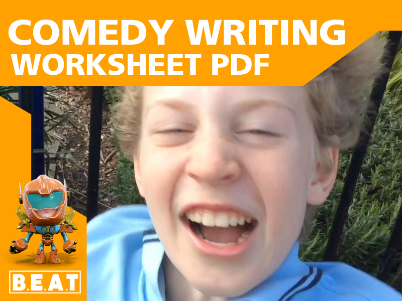 Comedy Writing Worksheet PDF