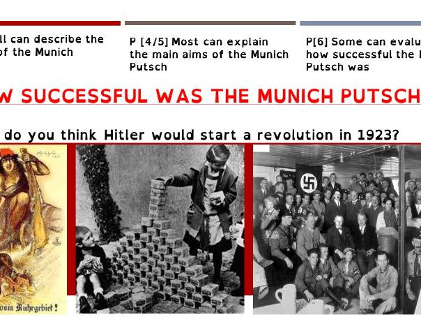 EdExcel 1-9 History 2016 - Weimar and Nazi Germany - 2. Hitler's Rise to Power 1919-33