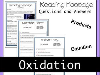 Oxidation Theory