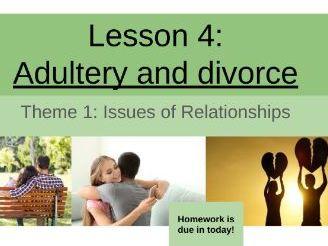 Adultery/Divorce EDUQAS/WJEC GCSE