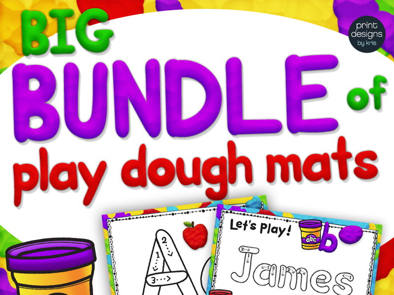 Ultimate Playdoh Activities BUNDLE